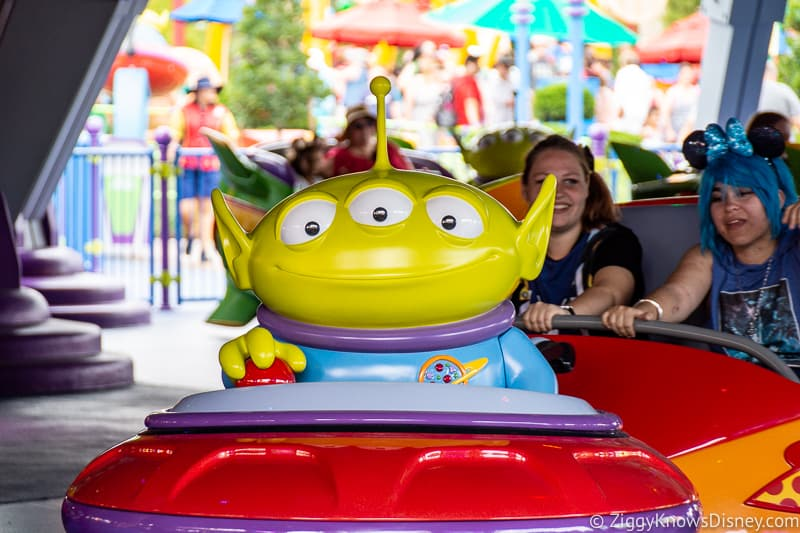 Disney's Hollywood Studios Rides Alien Swirling Saucers
