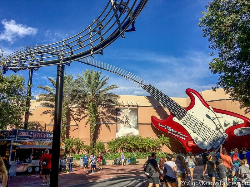 Disney's Hollywood Studios Rides Rock n Roller Coaster
