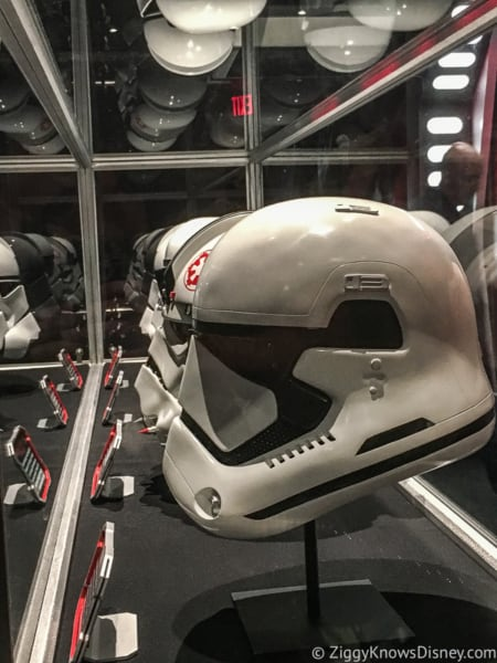 Disney's Hollywood Studios Best Attractions helmets inside Star Wars Launch Bay