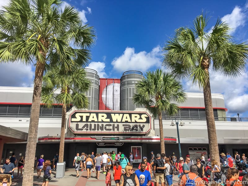 Disney's Hollywood Studios Best Attractions Star Wars Launch Bay