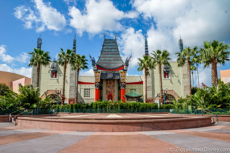 Disney's Hollywood Studios Rides Chinese Theater