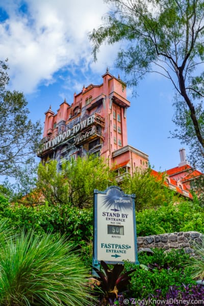 Disney's Hollywood Studios Best Rides Twilight Zone Tower of Terror