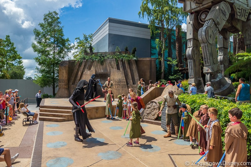 Disney's Hollywood Studios Attractions Jedi Training with Kylo Ren and Darth Vader