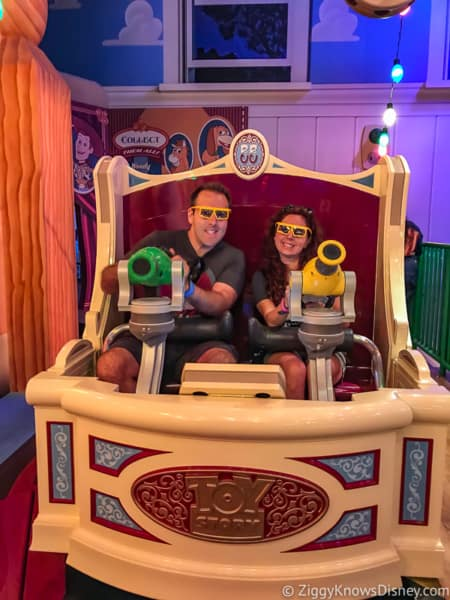 Disney's Hollywood Studios Best Attractions for families Toy Story Mania