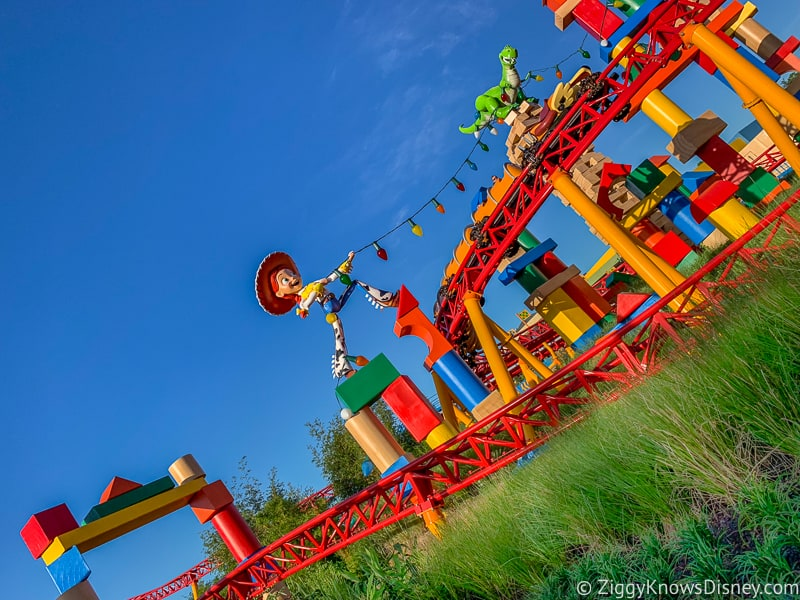 Hollywood Studios for rope drop Slinky Dog Dash toy story land