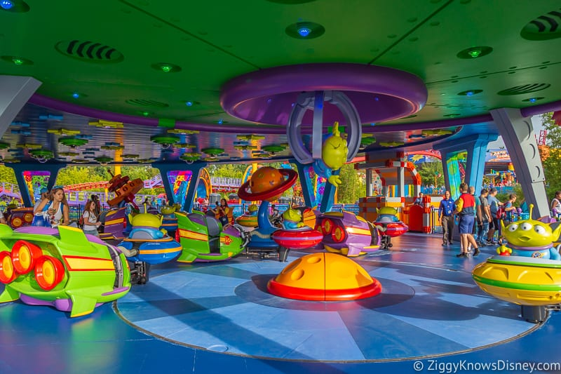 Hollywood Studios 1-Day Itinerary Alien Swirling Saucers