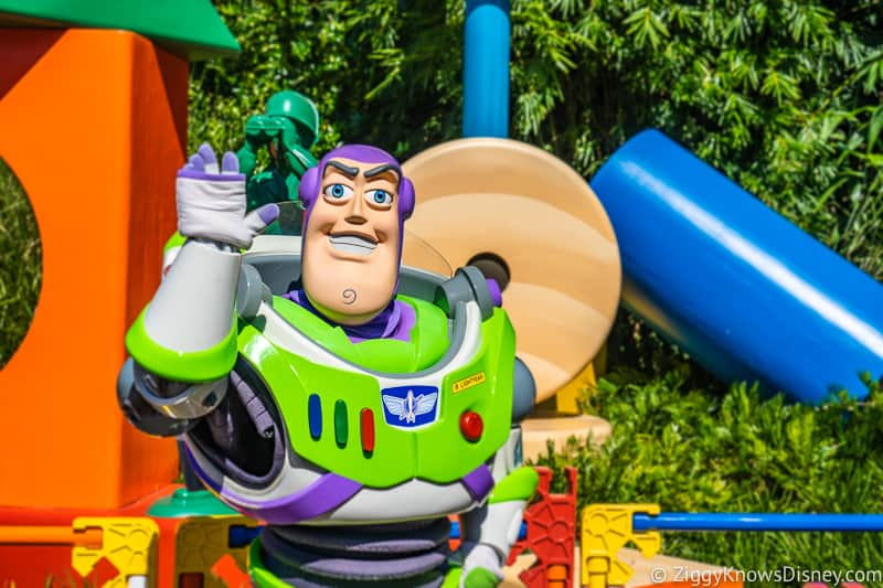 Hollywood Studios Touring Plan Buzz Lightyear