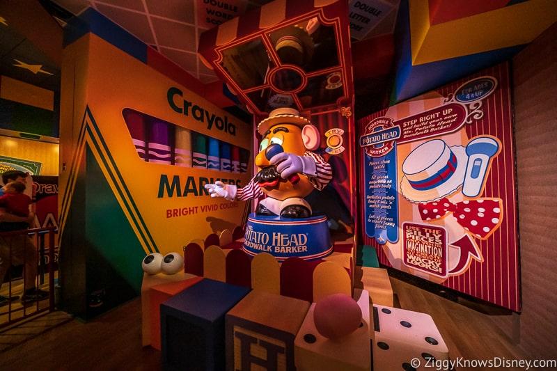 Hollywood Studios Touring Plan Mr. Potato Head Toy Story Mania!