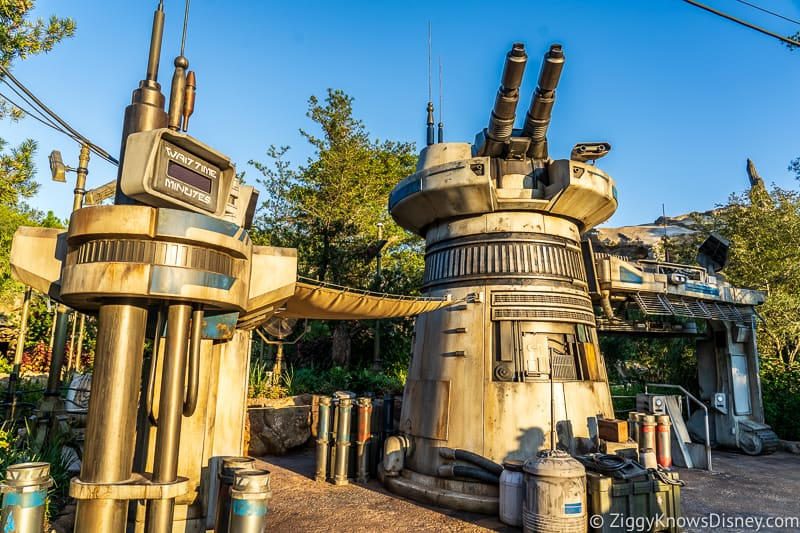 Outside Rise of the Resistance Hollywood Studios 1 Day itinerary