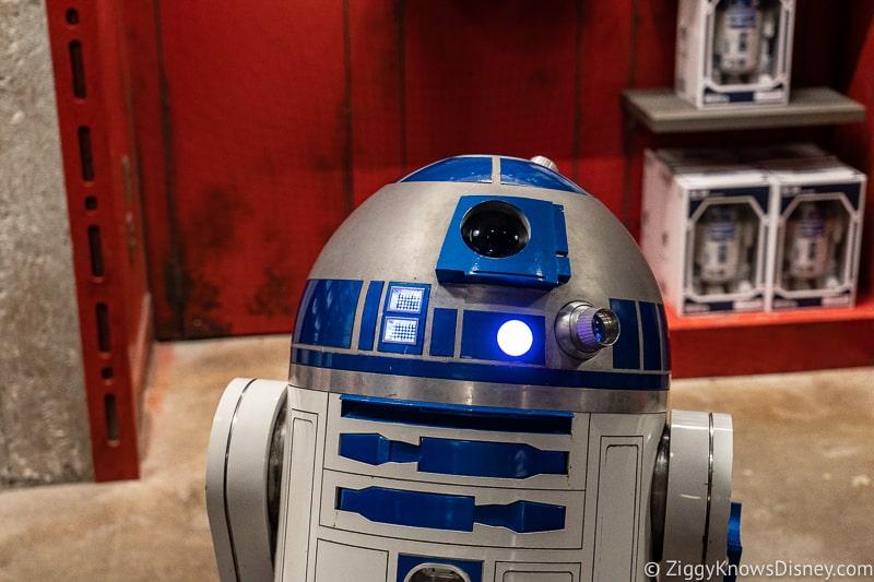 R2-D2 droid depot Hollywood Studios Touring Plan