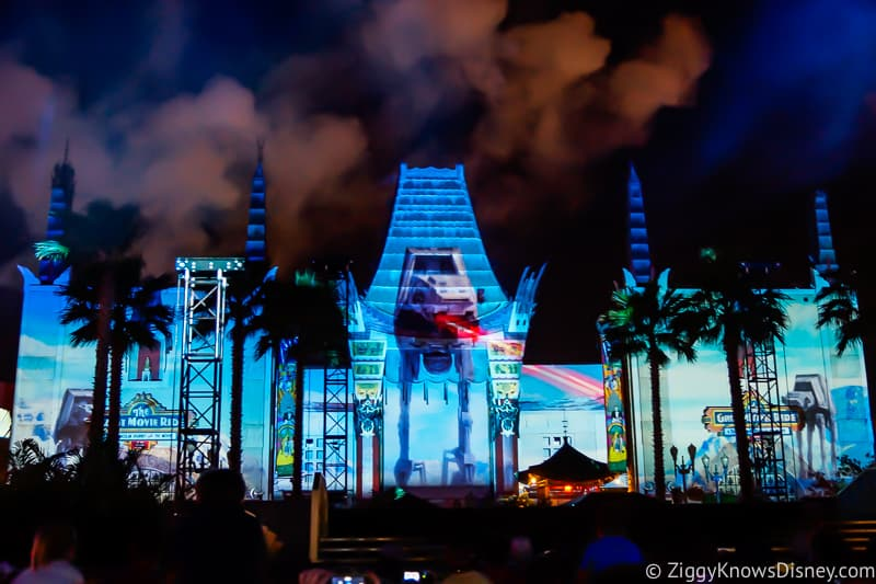 Hollywood Studios Touring Plan Star Wars: A Galactic Spectacular fireworks show