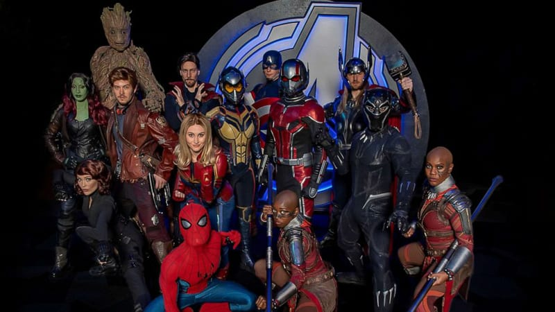 All the Marvel Characters at Avengers Campus