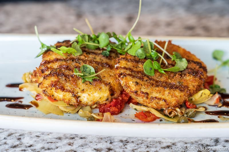 Crab Cakes at Grand Floridian Cafe Free Dining
