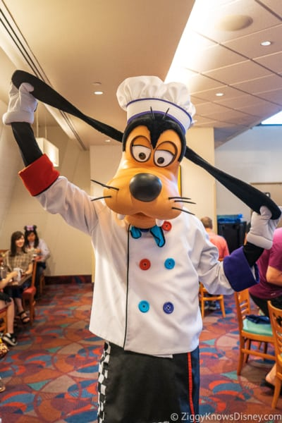 Goofy Chef Mickey's