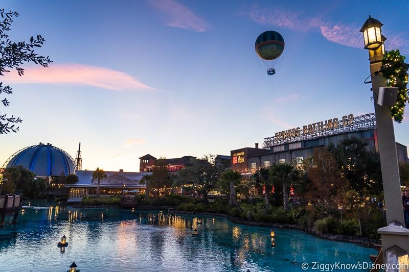 Disney Springs Closures