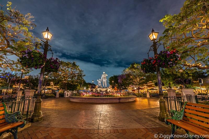 Disneyland Closed at night