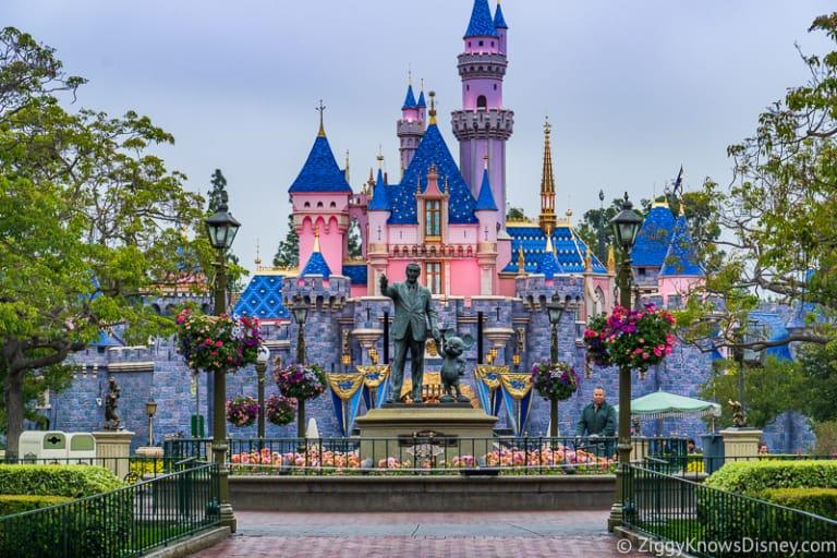 Disneyland Closure Coronavirus Sleeping Beauty Castle
