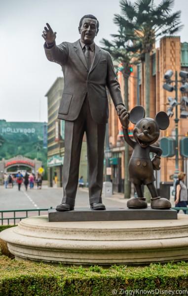 Partners Statue Disneyland Paris closed