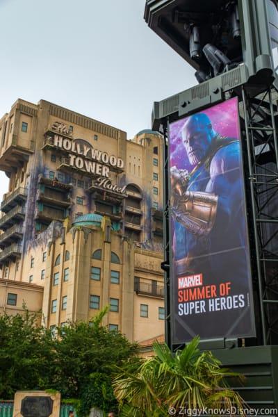 Disneyland Paris closure Tower of Terror