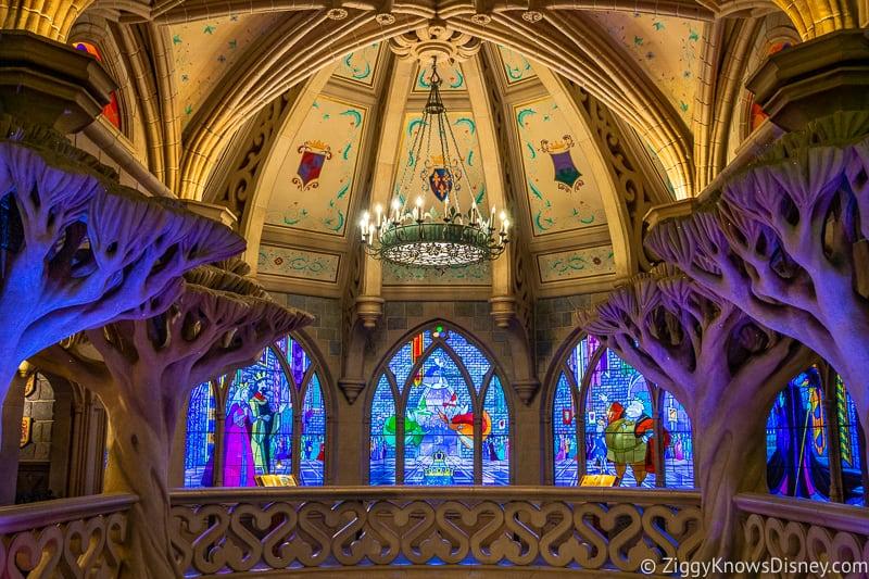 Disneyland Paris closure inside Sleeping Beauty Castle