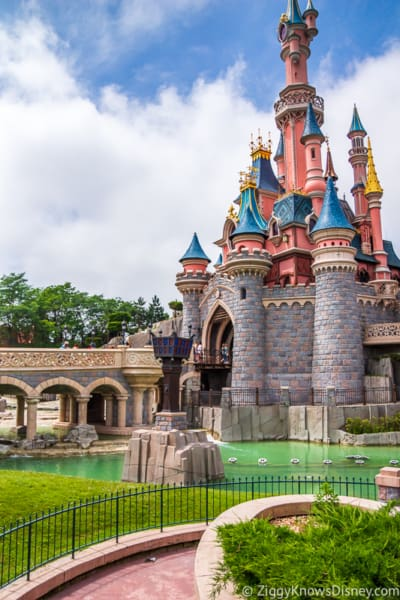 Disneyland Paris closure Sleeping Beauty Castle