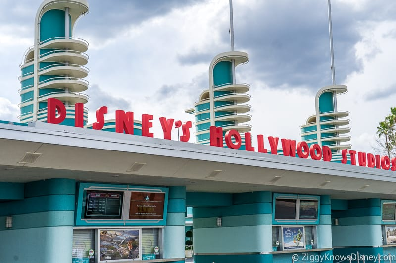 Disney's Hollywood Studios park entrance