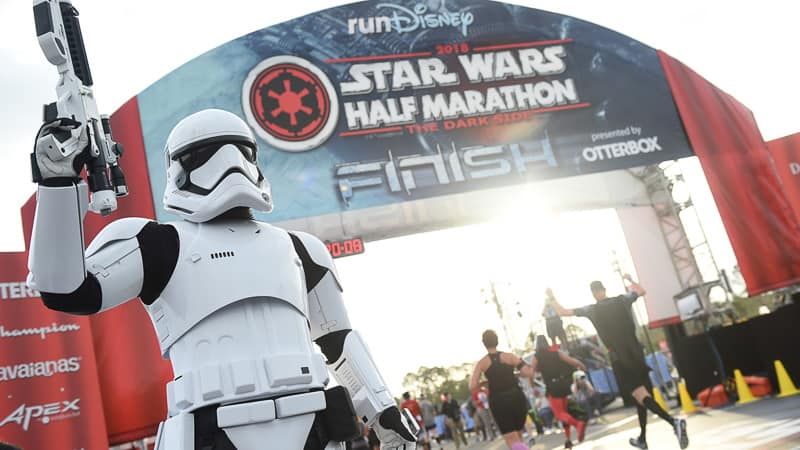 runDisney Star Wars half marathon weekend canceled