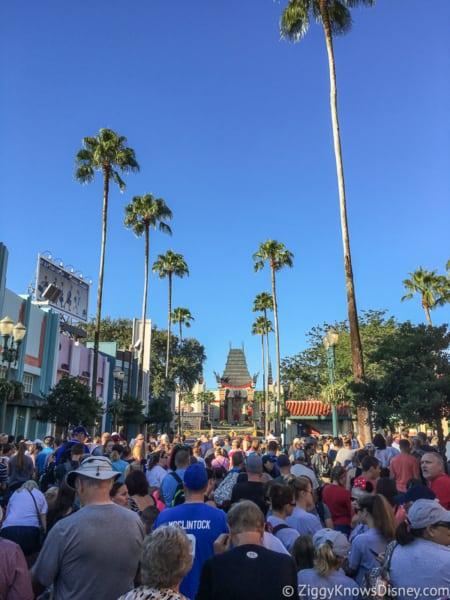 Busiest crowds in Disney World