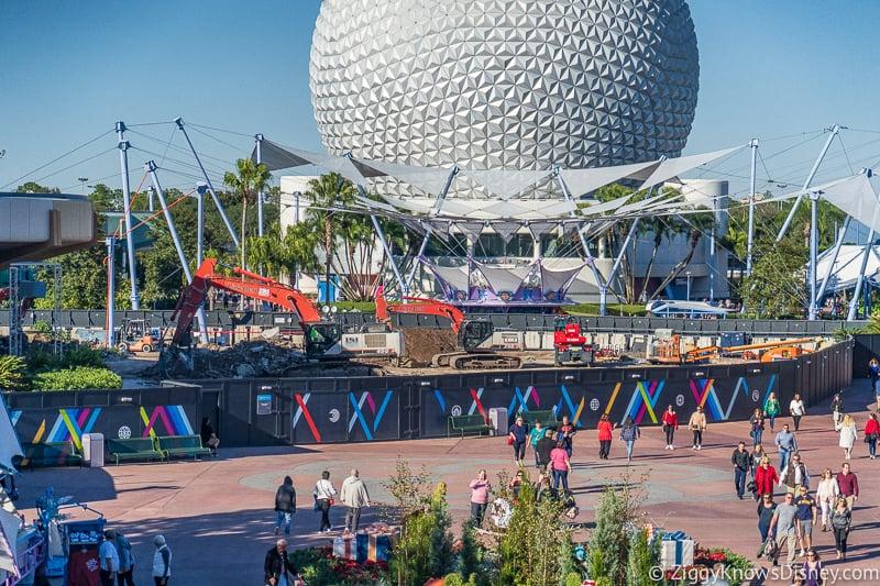 Construction and Refurbishments in Disney World