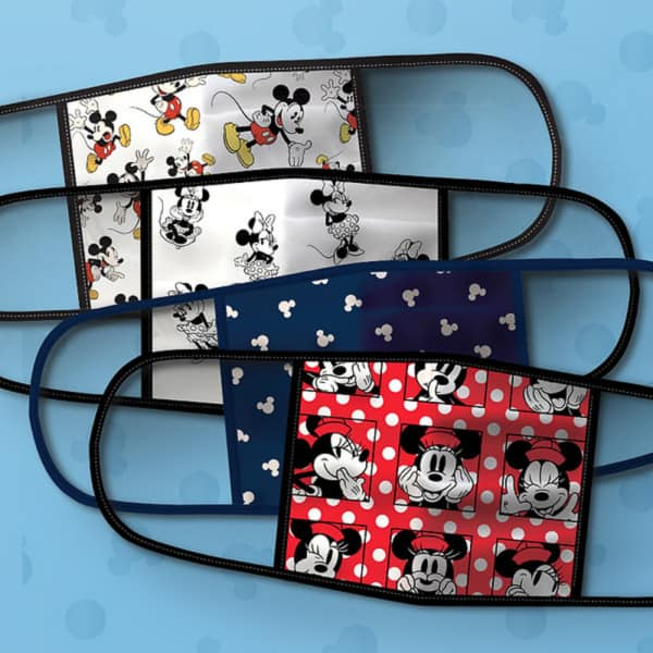 Disney protective face masks with characters
