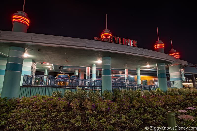 Using Disney Skyliner for Rope Drop Hollywood Studios