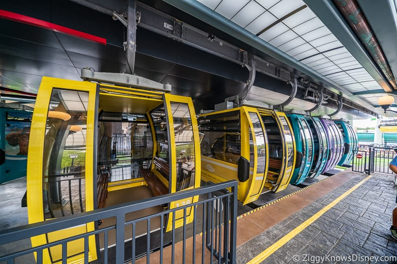 Is the Disney Skyliner crowded?