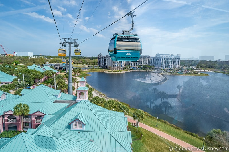 Disney Skyliner Gondola speed
