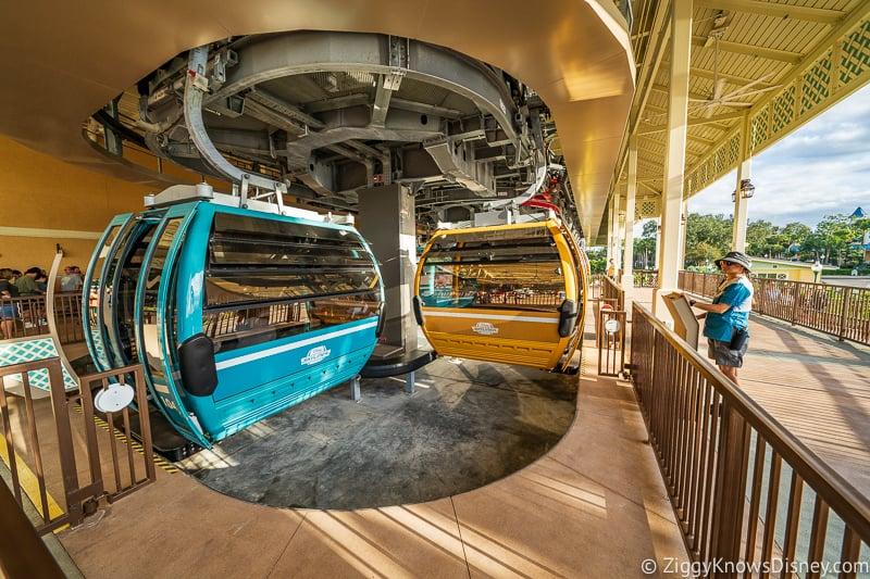 bringing strollers on Disney Skyliner