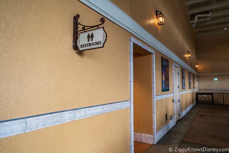 Disney Skyliner Restrooms