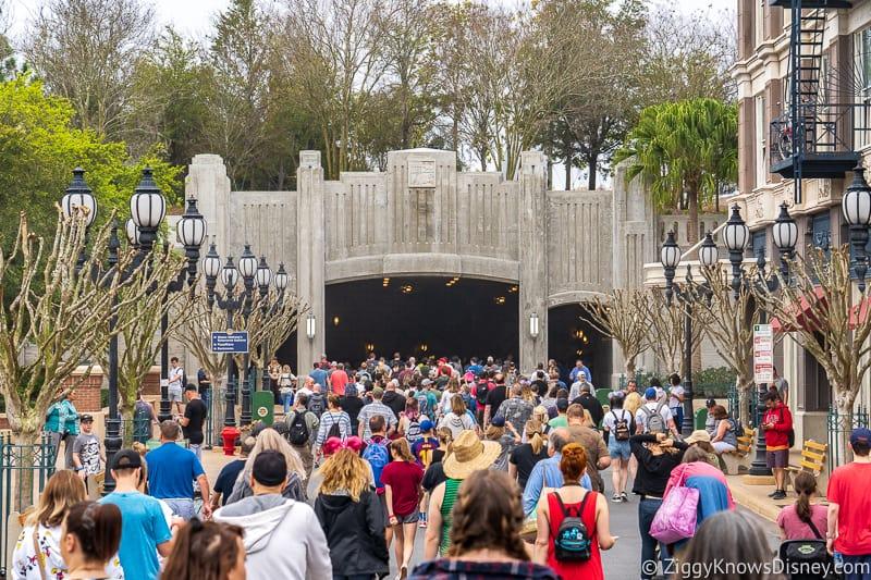 Disney World Crowd Calendar rope drop