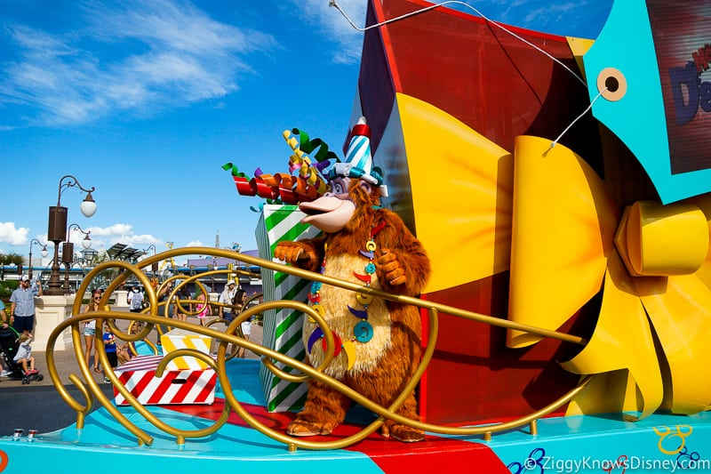 Disney World Crowd Calendar for parties