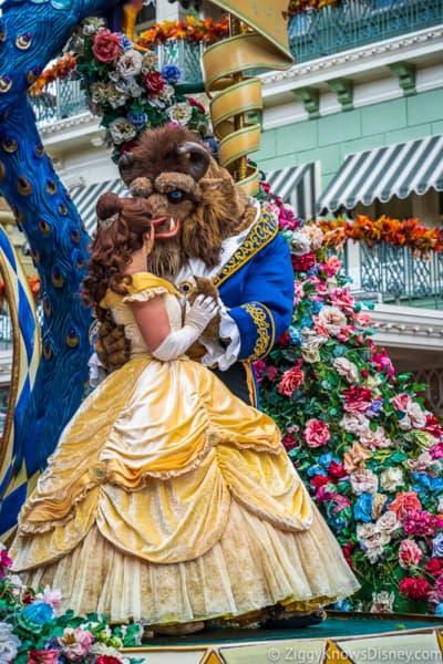Disney World Crowd Calendar for parades
