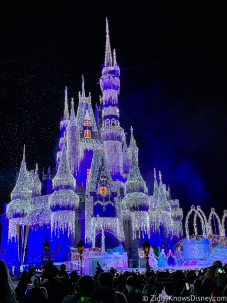 Disney Crowd Calendar in December