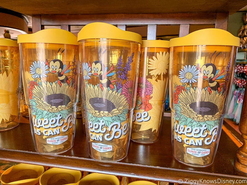 Spike the Bee Cup Epcot Flower and Garden