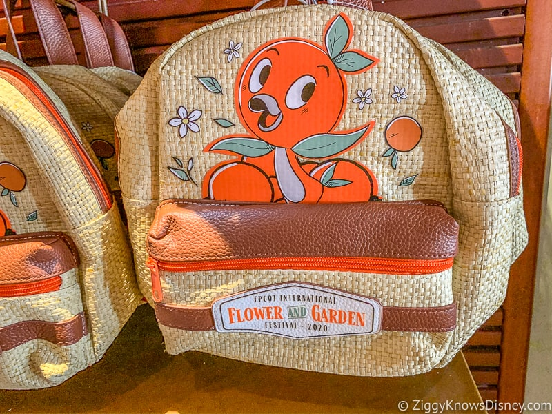 Orange Bird Backpack