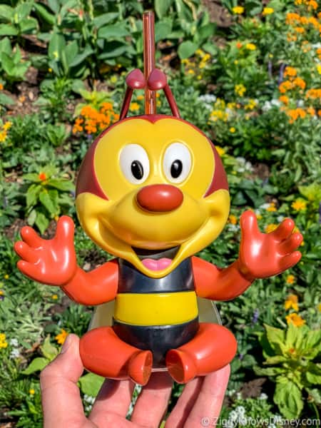Spike the Bee Sipper Epcot Flower and Garden Festival