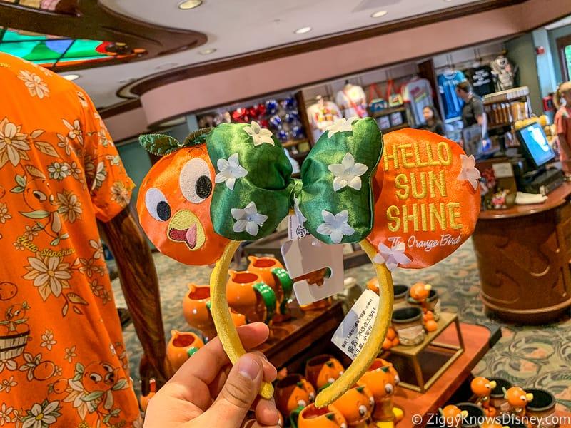 Orange Bird Ears Flower and Garden Merchandise