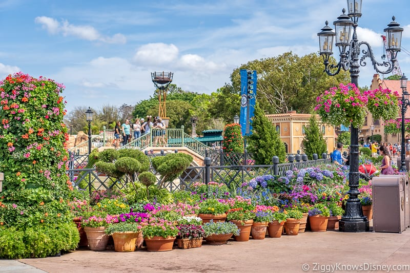 Italy pavilion Epcot Flower and Garden Festival