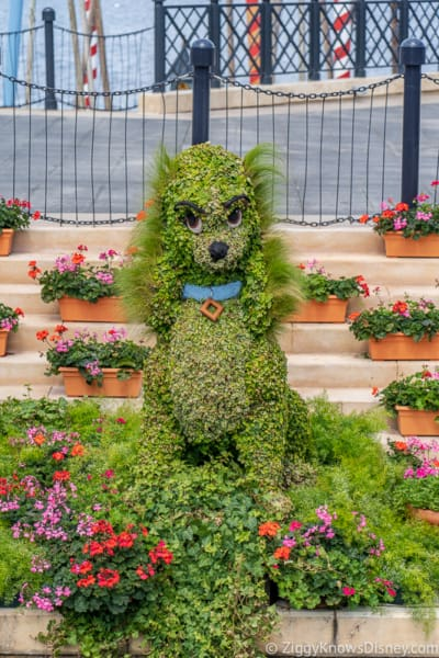 Lady Topiary Epcot Flower and Garden Festival