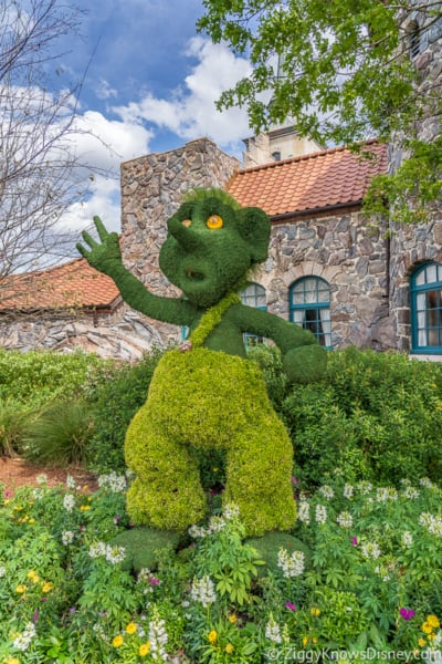 Troll Topiary Epcot Flower and Garden Festival