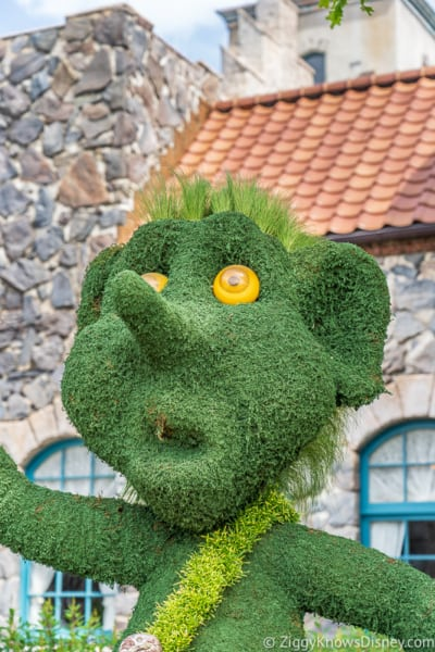 Troll Norway Topiary Epcot Flower and Garden Festival