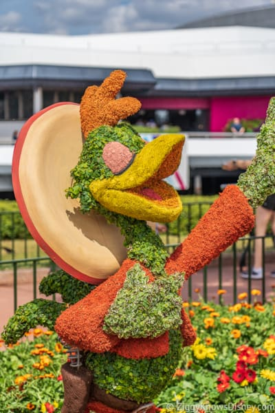 Panchito Pistoles Topiary Epcot Flower and Garden Festival