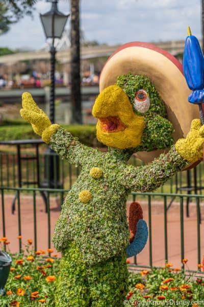 Jose Carioca Topiary Epcot Flower and Garden Festival