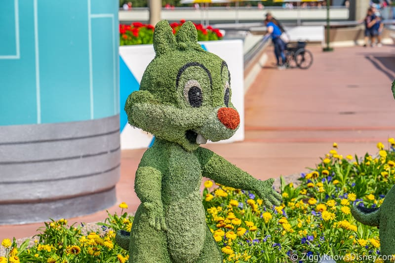 Dale Topiary Epcot Flower and Garden Festival